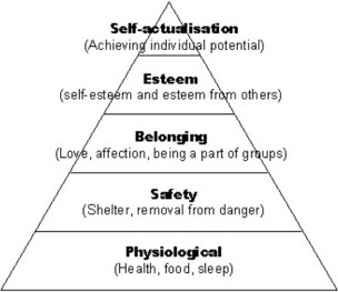 Maslow's Hierarchy of Needs Images